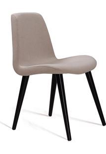 Cadeira Eames T1073 Linho-Daf Mobiliário - Bege
