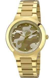 6bcebece4b7 ... Relógio Euro Feminino Analogico Militar - Unissex