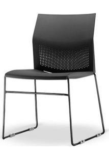 Cadeira Connect Base Fixa Preta - 53760 Sun House