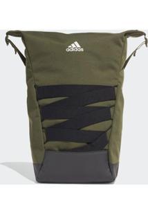 Mochila 4Cmte Id U Adidas - Unissex-Verde