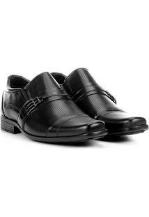 Sapato Social Couro Walkabout Listras - Masculino