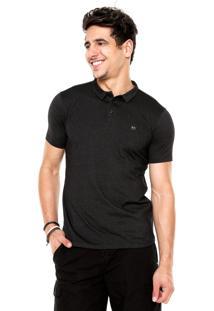 Camisa Polo Oakley Atiba Preta