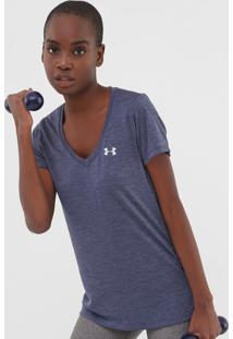 Camiseta Under Armour Ua Tech Azul-Marinho