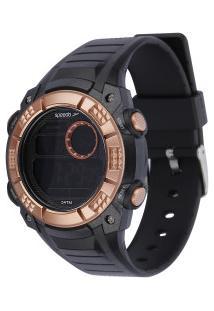 Relógio Digital Speedo 11002L0 - Feminino - Preto