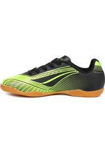Tênis Futsal Penalty Storm Speed Verde/Preto