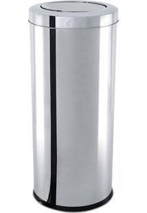 Lixeira Com Tampa Basculante- Inox- 30,5X21X20Cmbrinox