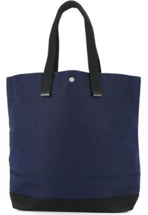 Cabas Bolsa Tote Grande - Azul