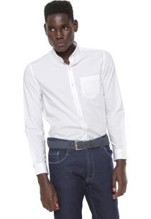 Camisa Lacoste Regular Fit Branca