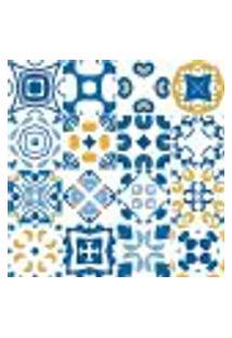 Adesivo De Azulejo - Ladrilho Hidráulico - 379Azpe