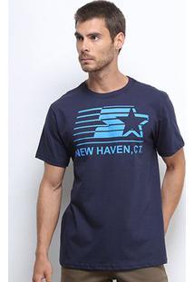 Camiseta Starter New Haven Masculina - Masculino-Marinho