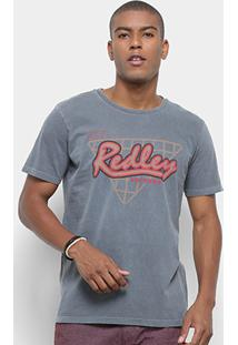 Camiseta Redley Tinturada Silk Masculina - Masculino
