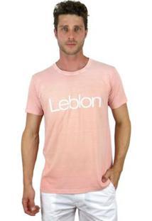 Camiseta Bora Leblon - Masculino-Rosa