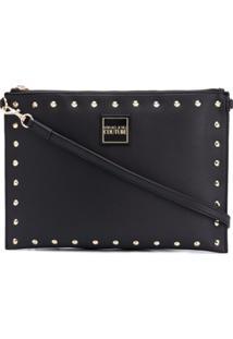 Versace Jeans Couture Bolsa Clutch - Preto