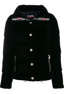 Karl Lagerfeld Jaqueta 'Karl X Kaia' - Preto
