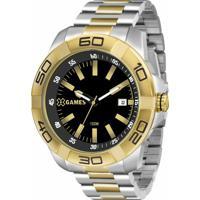 69fe2530ef5 Relógio Xgames Xmts1001 P1Sx - Masculino-Prata+Dourado