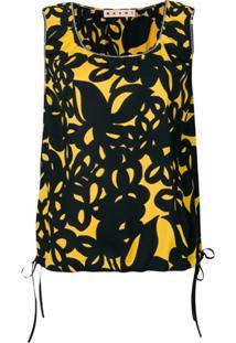 Marni Regata Floral - Amarelo