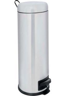 Lixeira Inox 5 Litros Pedal Banheiro Cozinha 8227 - Kanui