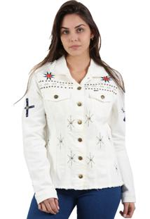 Jaqueta It'S & Co Cherokee Off-White