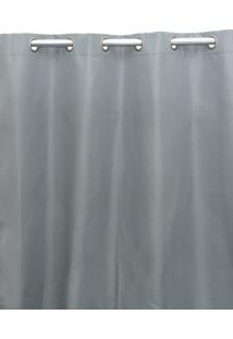 Cortina Santista Blackout 230X280Cm Toquio Cinza