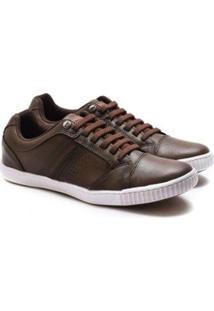 Sapatênis Ped Shoes Fehamento Em Elástico Masculino - Masculino-Marrom