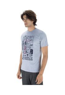 Camiseta Fatal Estampada 22137 - Masculina - Cinza