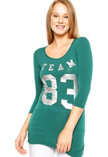 Blusa Fiveblu Estampa Verde