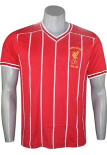 Camiseta Liverpool 1984 Retro Mania