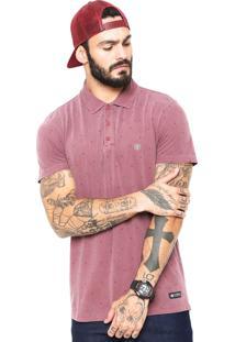 Camisa Polo Element Colter 2 Vinho