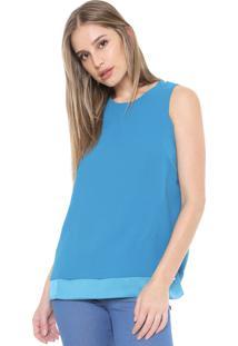 Regata Ana Hickmann Lisa Azul