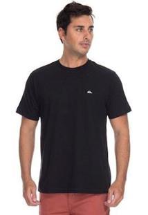Camiseta Quiksilver Chest Masculina - Masculino-Preto