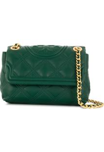 Tory Burch Quilted Shoulder Bag - Verde