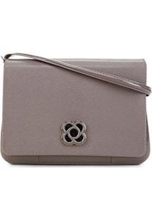 Bolsa Petite Jolie Mini Bag Básica Feminina - Feminino-Cinza