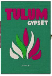 Assouline Clutch X Olympia Le-Tan Tulum - Verde