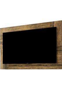 Painel Para Tv Até 55 Polegadas Delfos Extensível Flex Canela E Dunas