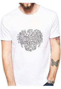 Camiseta Coolest Fênix Masculina - Masculino-Branco