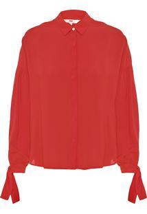 Camisa Feminina Terri - Vermelho