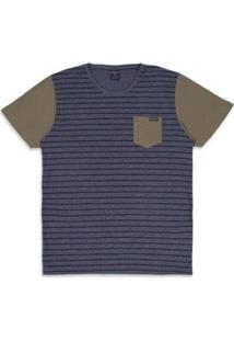 Camiseta Oakley Esp Voyage Stripe Masculino - Masculino
