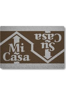 Tapete Capacho Mi-Casa Su-Casa - Marrom