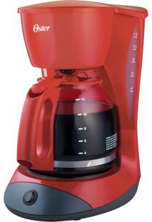 Cafeteira Oster Red Cuisine 36 Xicaras 127V Vermelha 900W De Potência